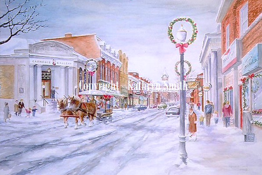 Christmas Scenes.Dickens Of A Christmas