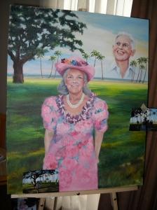 Portrait of Patricia Bragg and Paul Bragg