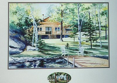 Cottage on Lake with Remarque