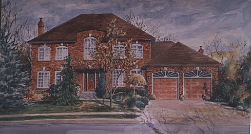 House Portrait Oakville