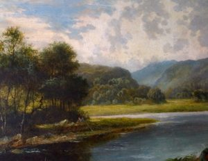 Oil Landscape After Cleaning
